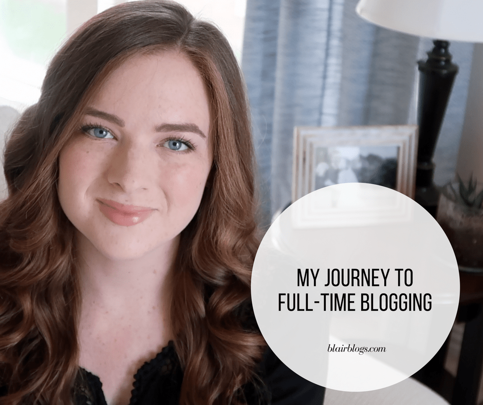 My Journey to Full-Time Blogging