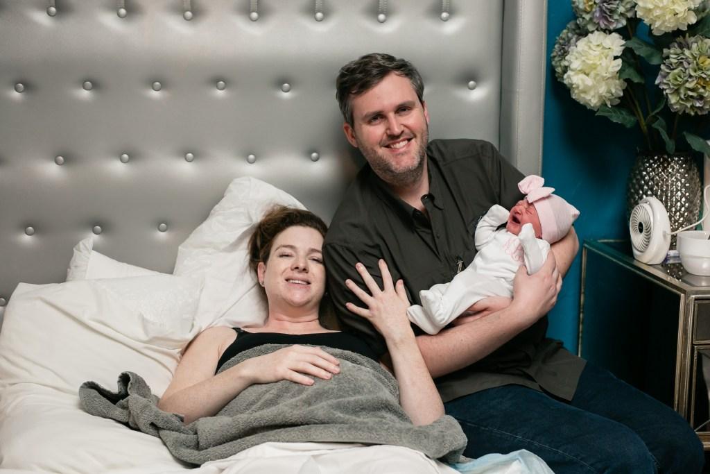 Nora's Birth Story   Unmedicated Birth Center Birth   Origins Keller   Blair Lamb Birth Story   BlairBlogs.com