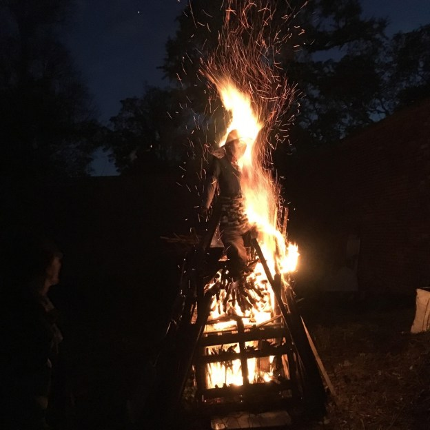 A very fine Bonfire and party