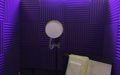 Finished Vocal Booth, Now To Record Some!