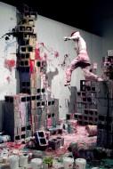 Painting Complex, performance. Photo: Damon Sauer