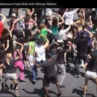 As Featured on TMZ News: Blake Mallen's 'Flashmob' Community Movement with Alfonso Ribeiro Goes Viral