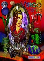 Virgo Zodiac Greeting Card Characteristic B