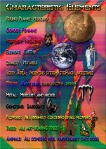Virgo Zodiac Greeting Card Characteristic List B