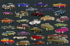 28 Classic Cars & 1 RV