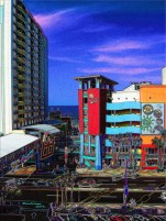 Daytona Beach Ocean Walk Bandshell & Atlantic Art
