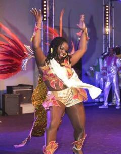 Alicia, Reine du Carnaval Tropical de Paris 2015