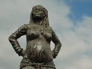 Mulatresse Solitude (détail statue)
