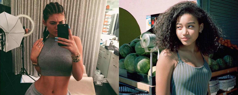 Kylie Jenner remise en place par Amandla Stenberg après s'être affichée avec des nattes collées, elle dit non à la «cultural appropriation»