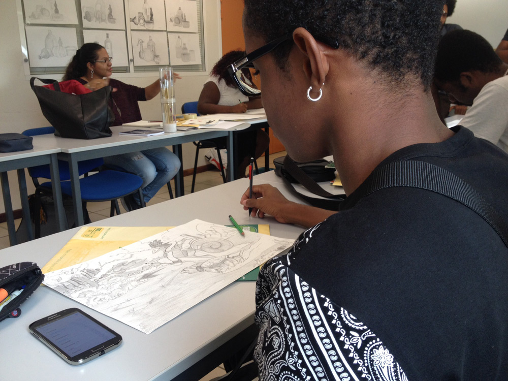 Drawing Class at ©Parallel14