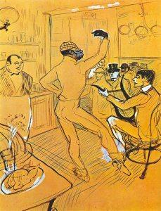 Chocolat croqué par Toulouse-Lautrec