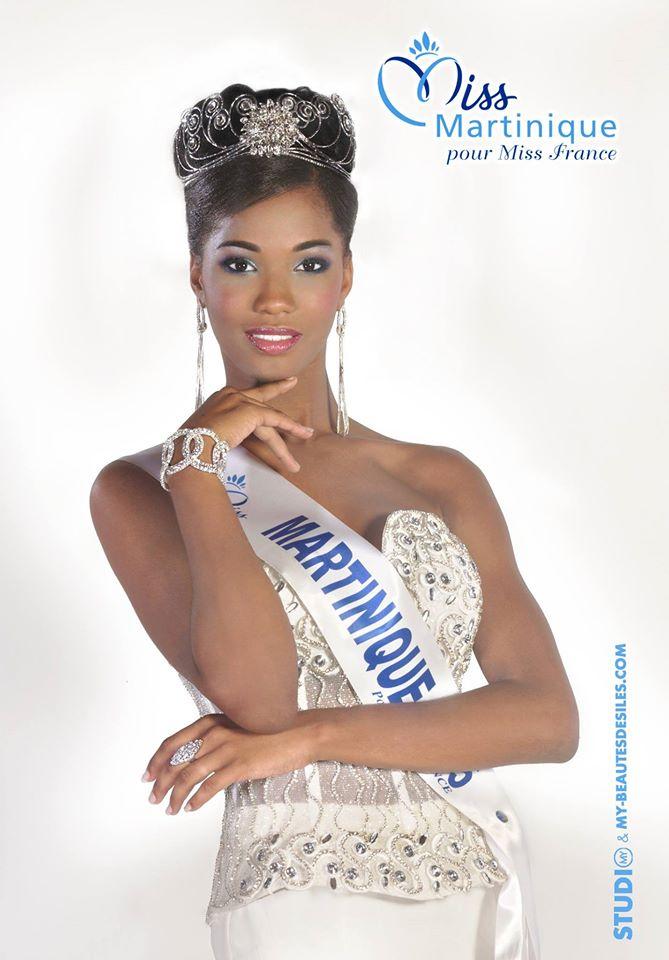 Morgane Edvige, Miss Martinique 2015/ Facebook@Miss-Martinique