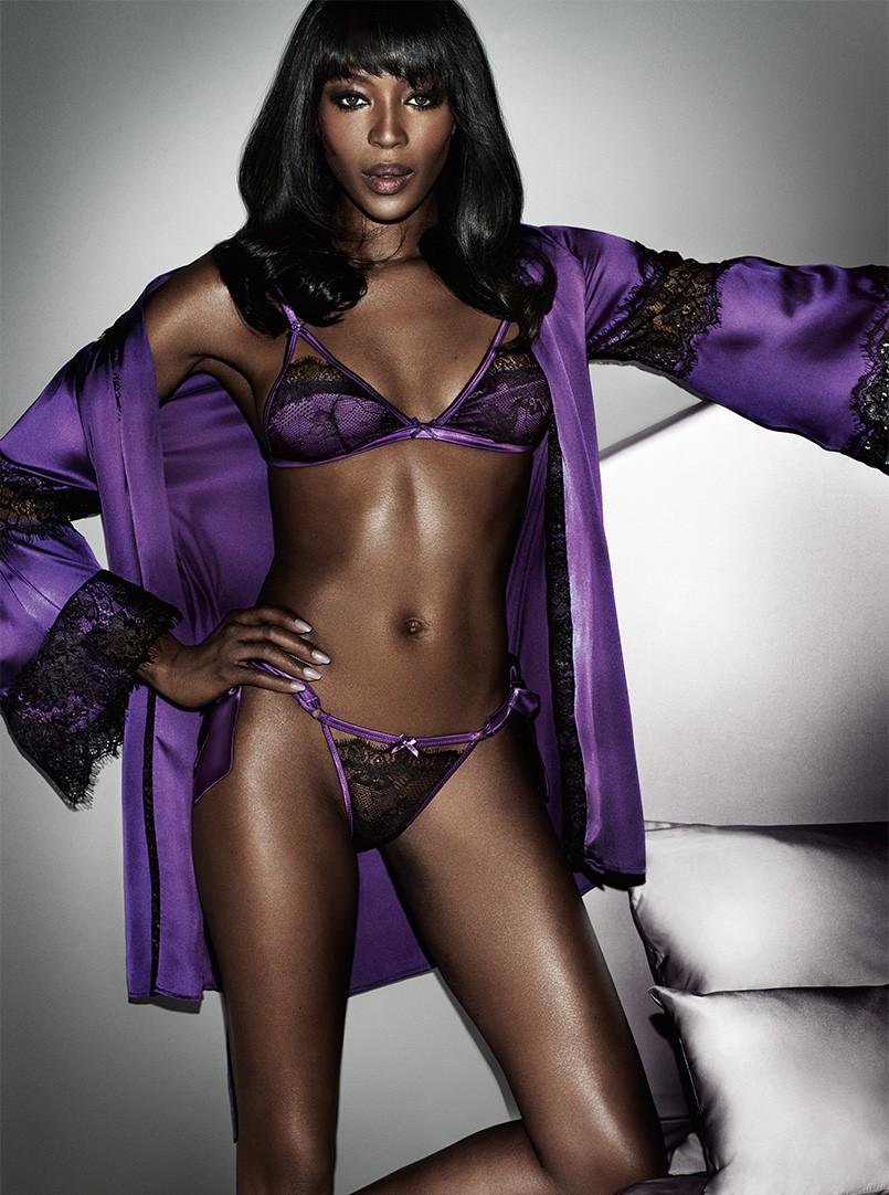 Ensemble sexy Naomi Campbell pour Yamamay/ Yamamay.com