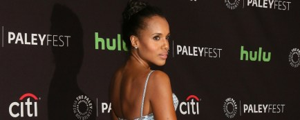 Kerry Washington dans de la dentelle