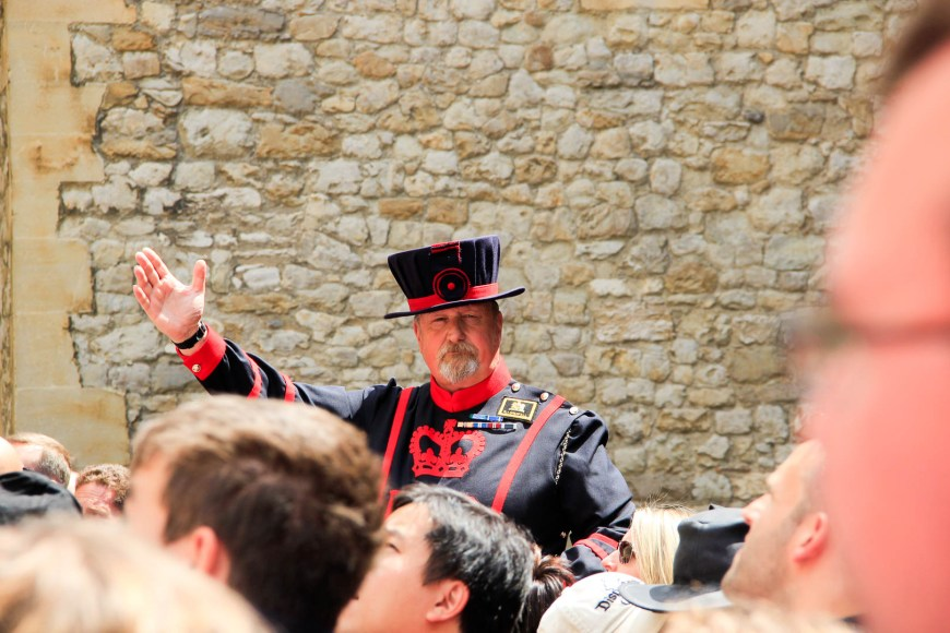 A Beefeater!