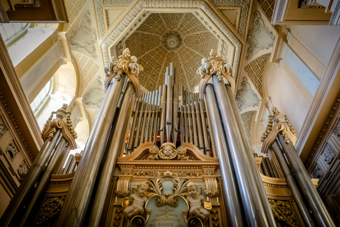 Blenheim Palace Library Organ
