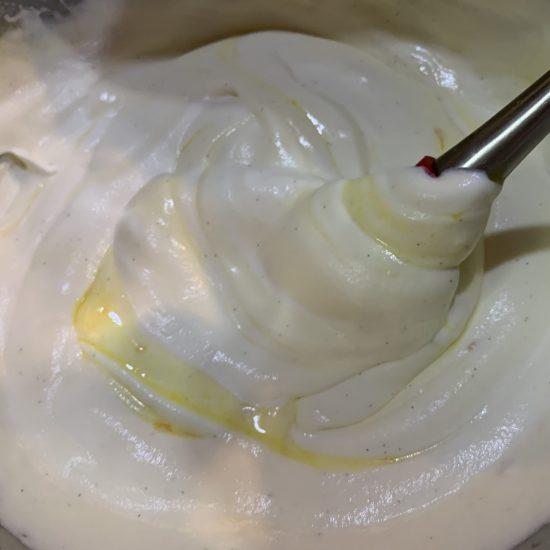 Meyer Lemon Curd Semifreddo