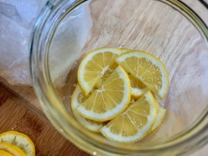 Salt-Preserved Meyer Lemons