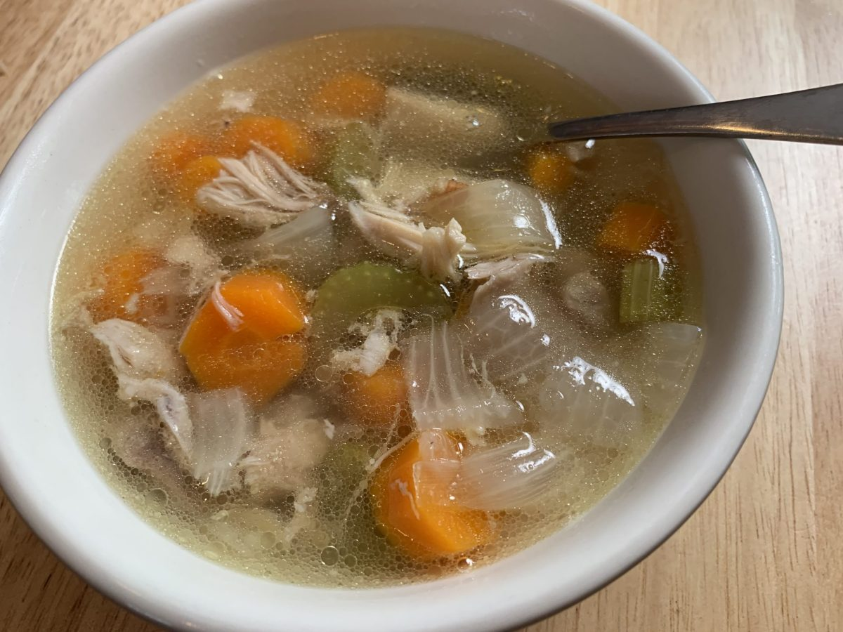 Make Your Own Chicken Soup (Instant Pot)