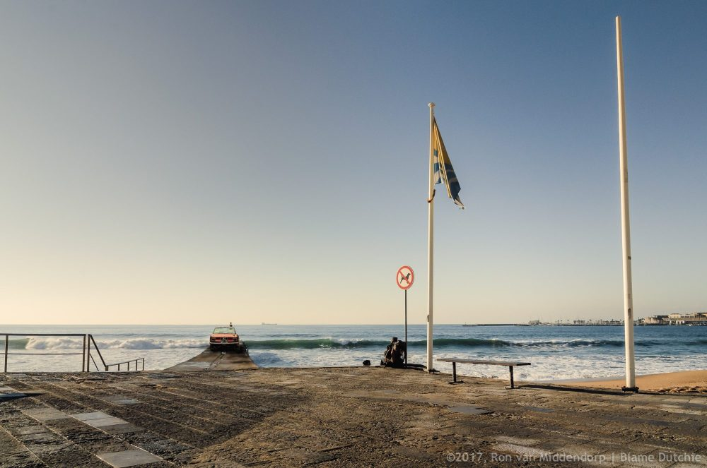 photo: beach, breaker, car, composite