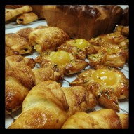 brioche and pastries