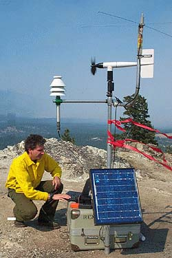 Ground based weather stations,...