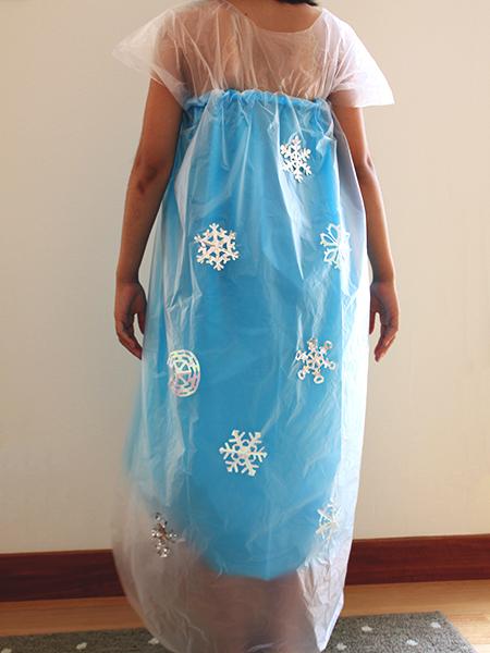 ビニール袋 エルサ ドレス