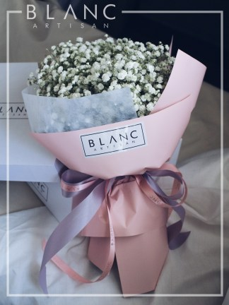 ☁️ FLORENCE - WHITE BABY BREATH BOUQUET | GELATO | AUTUMN/WINTER 2019