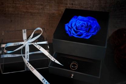 VERSAILLES - PRESERVED BLUE ROSE | LA VIE EN ROSE | BLANC SIGNATURE
