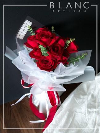 VALENTINE'S DAY RED ROSE BOUQUET