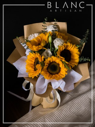🌻 HAT YAI – SUNFLOWER BOUQUET