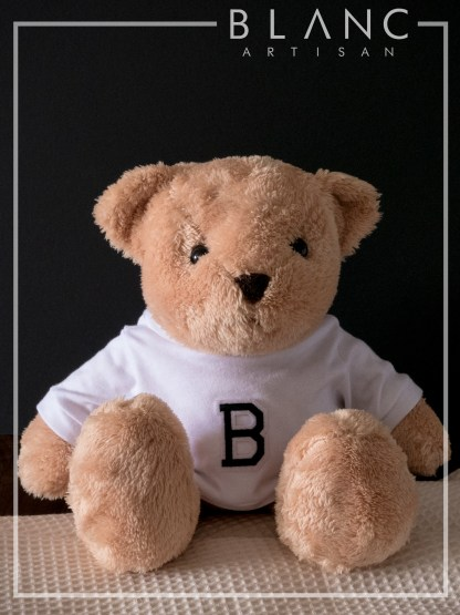 🐻 PEANUT TEDDY - BROWN BEAR DOLL | 2019 COLLECTION | BLANC COTTAGE