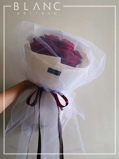 RED ROSES PROPOSAL BOUQUET