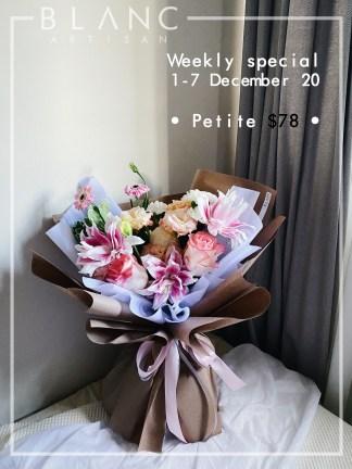 1-7 DECEMBER - PETITE BOUQUET