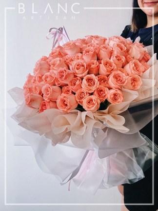 KUNZITE - 99 PINK ROSES