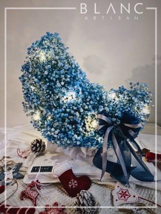 🎅🏻 ISTANBUL - BLUE BABY BREATH MOON SHAPE SINTERKLASS - 🎄 CHRISTMAS SPECIAL 2020