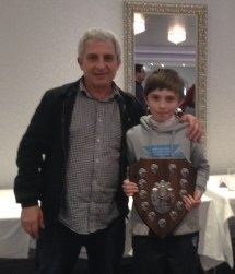 Danny Dwyer and his Dad)