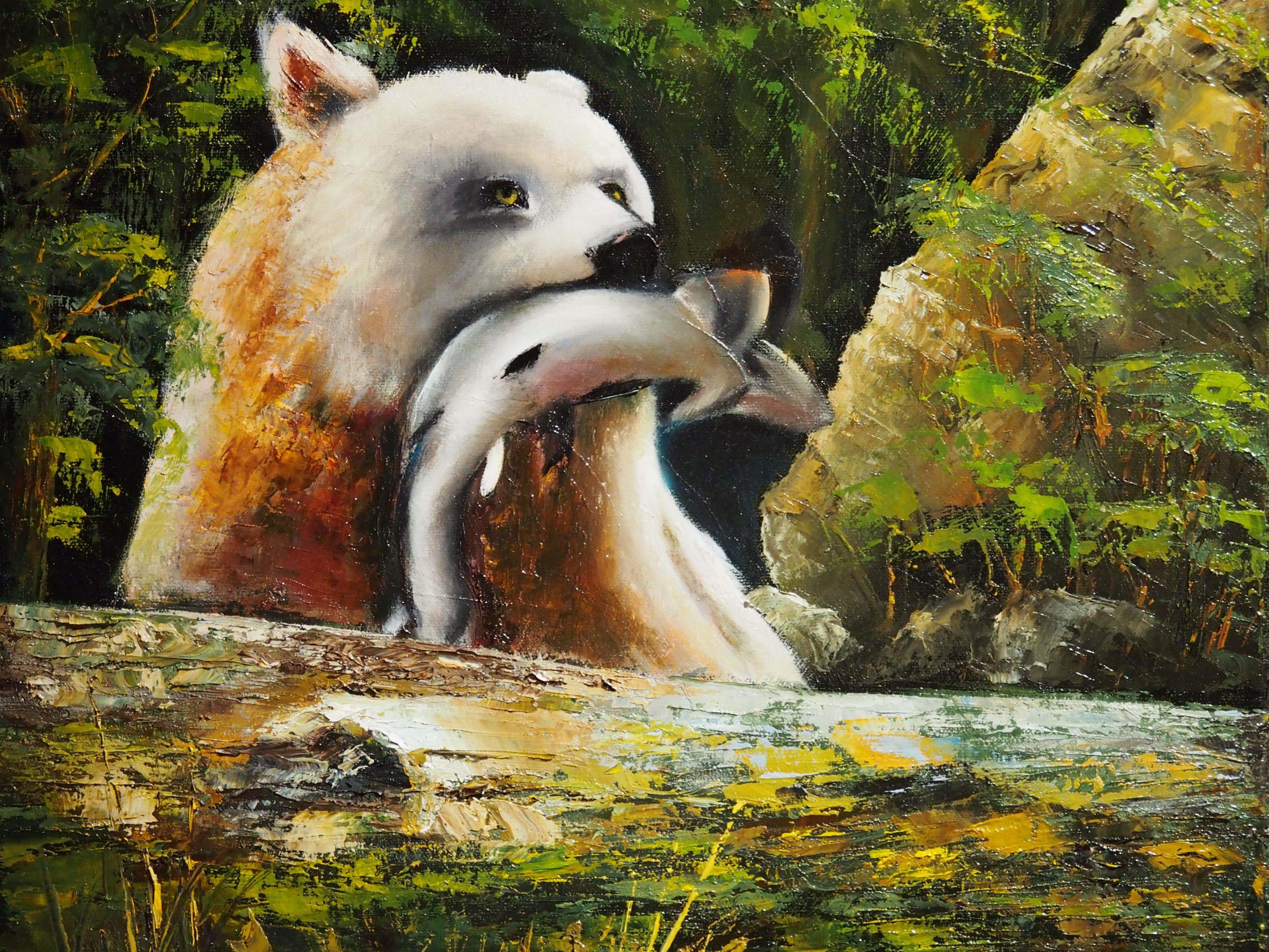 L'ours esprit