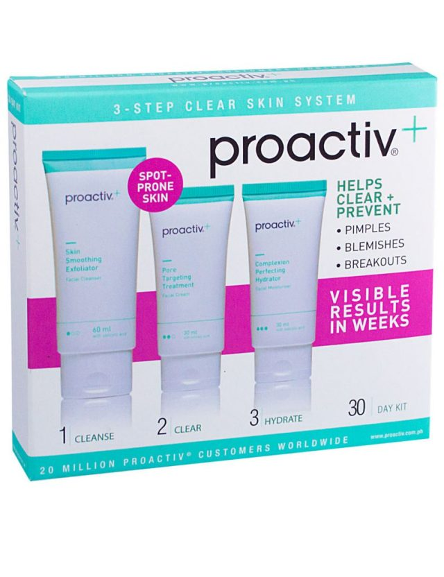 Skincare Tips from Proactiv+ 3-Step Clear Skin System