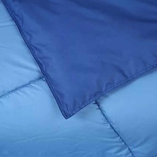 Simil Plumon Azul Celeste