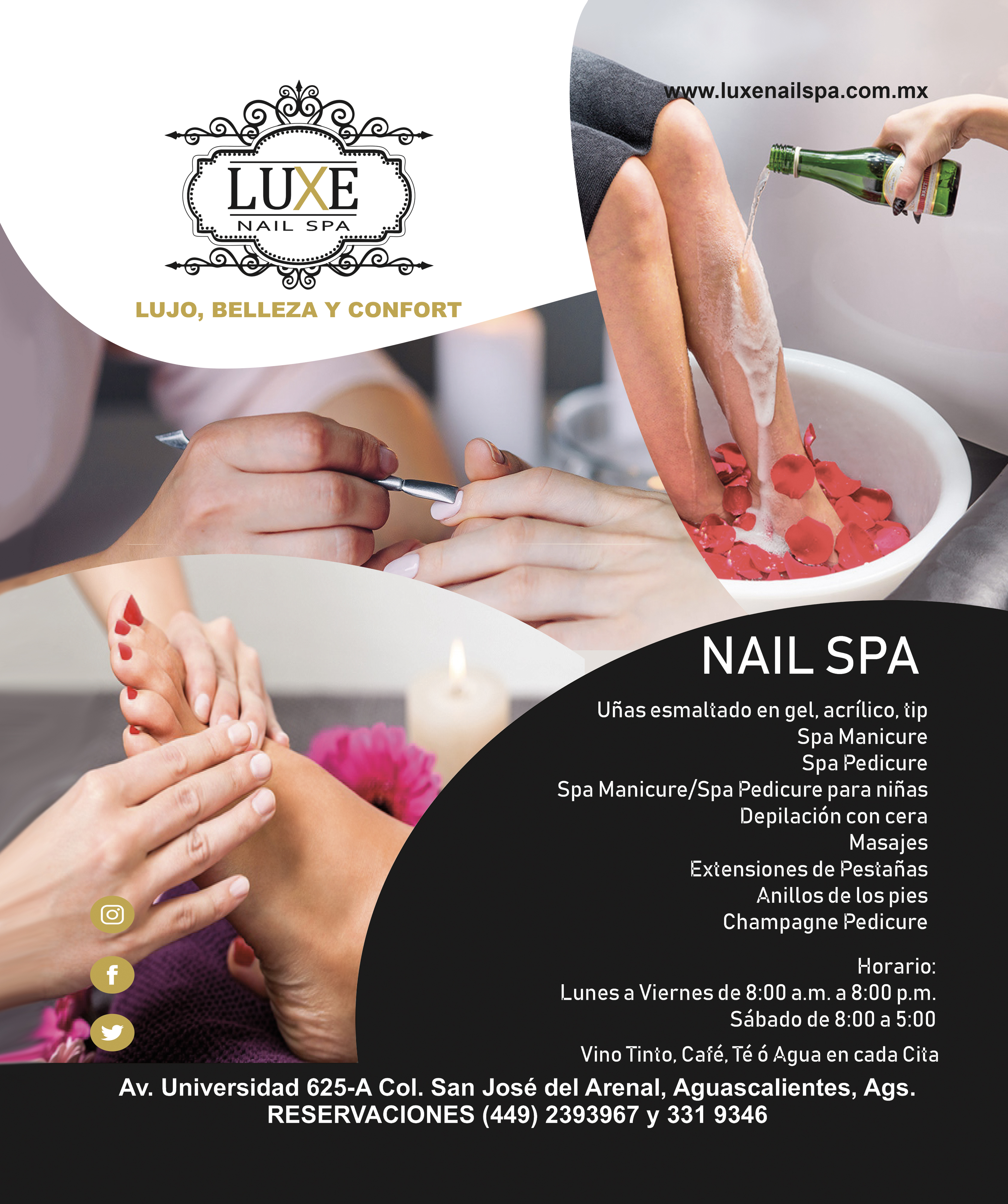 SPA LUX NAILS