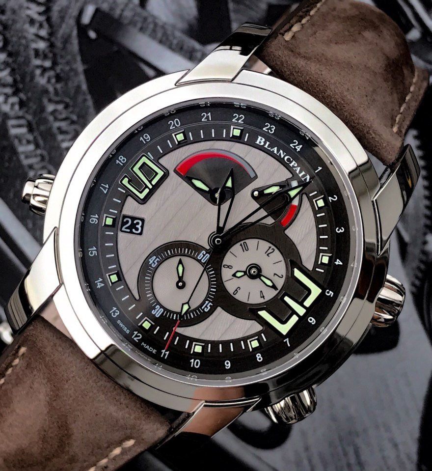 Blancpain L'Evolution GMT Reveil