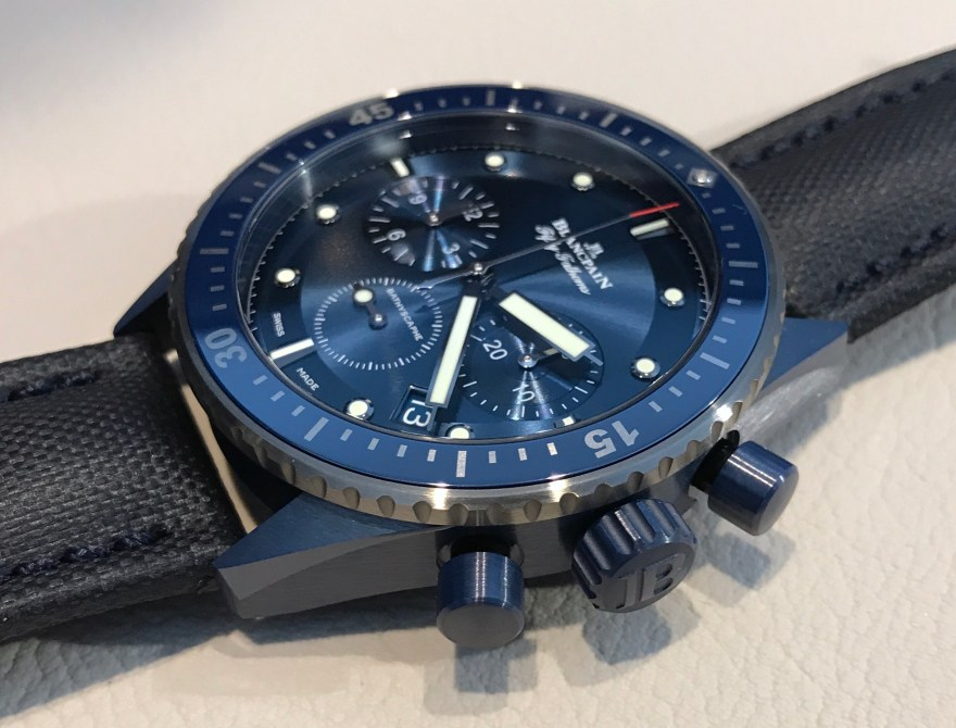Blancpain Bathyscaphe Bucherer Blue Edition