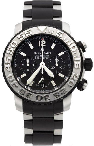 2285F-6530-66 (ST & black rubber, black dial)