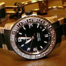 2200-4430-44 (PT & black rubber, black dial, LE 10)
