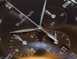 Villeret chronographe Monopoussoir