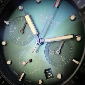 Bathyscaphe Chronographe Ceramic green
