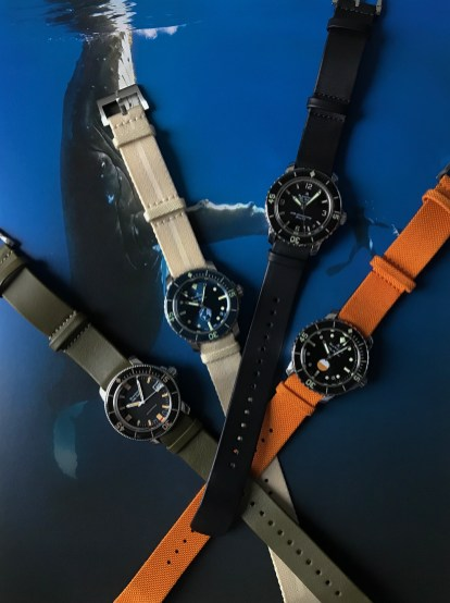 Fifty Fathoms 40mm editions