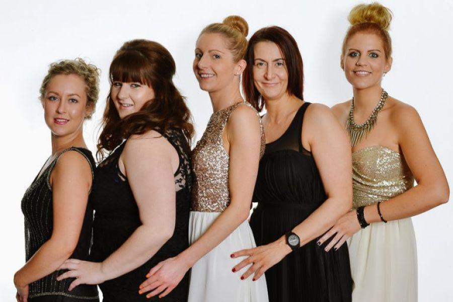 Dorset Event Photographer Lisa Edwards Hairdresser Awards booth