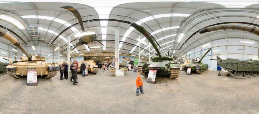 tank museum panoramic image 3